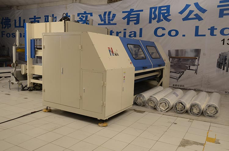 mattress compression roll packing machine