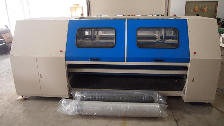 Automatic unlimit diameter mattress press rolling machine