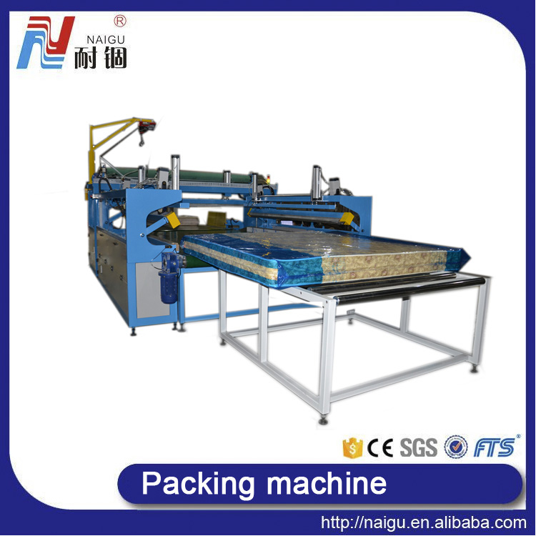 automatic mattress film packaging machine