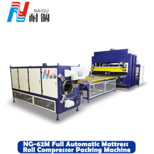 NG-62M Full automatic mattress roll compressor packing machine